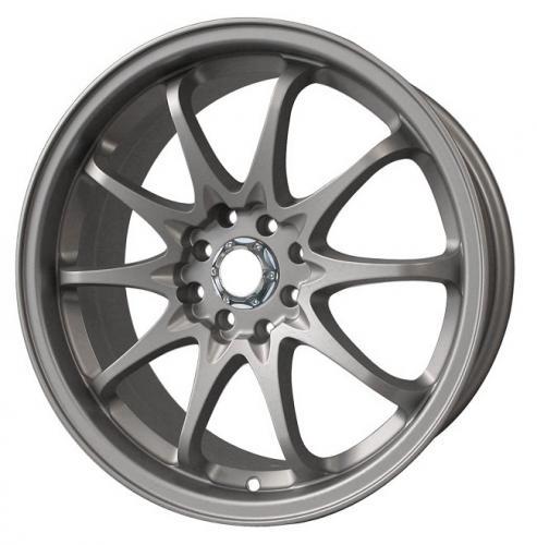 Aoshima 19 Inch Volk Racing Ce28n Wheel Tyre Set