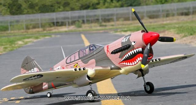 Fms P-40 Fighter ARF