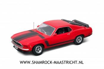 Welly 1970 Ford Mustang Boss 302 red 1/18
