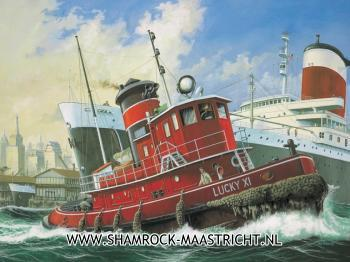 Revell Harbour Tug Boat 1/108 Model Set
