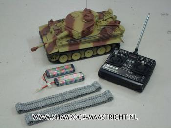Tamiya Occasie Tiger I Full Option 1/16